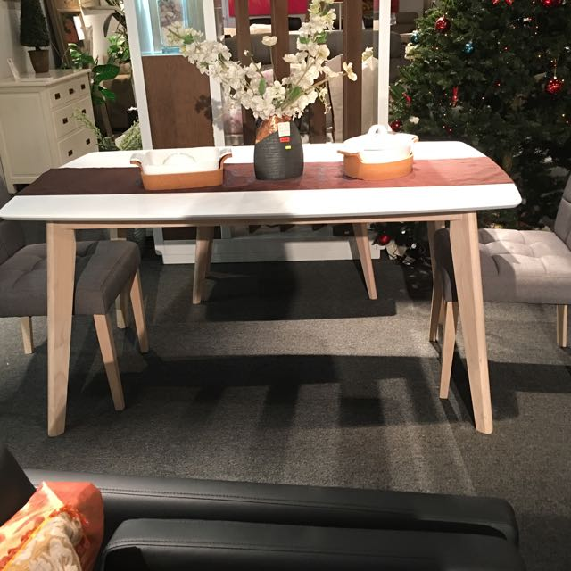 Leon Dining Set Home Furniture Tables Chairs On