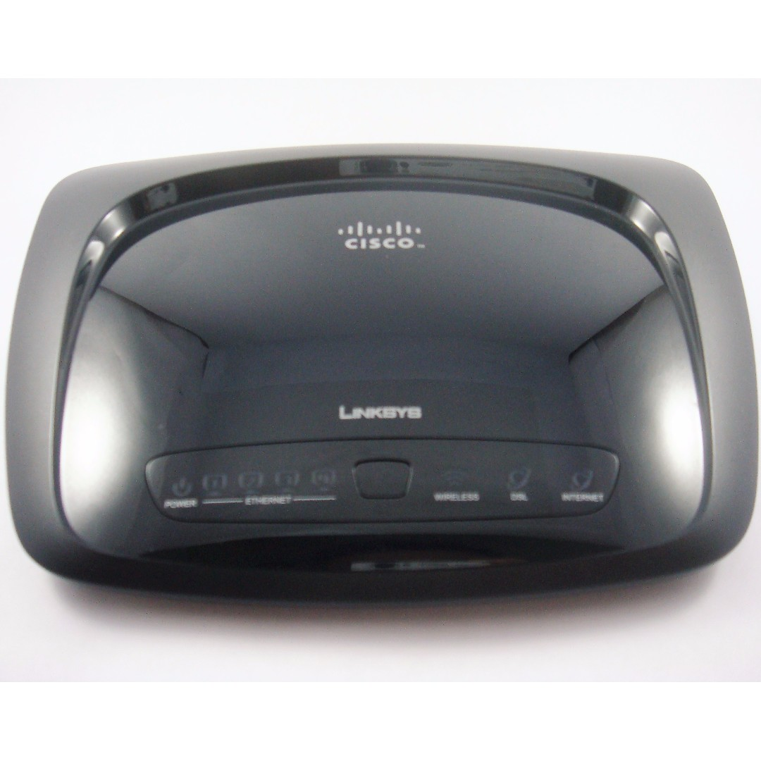 Linksys Wireless-N Home ADSL2+ Modem Router Model WAG120N ...