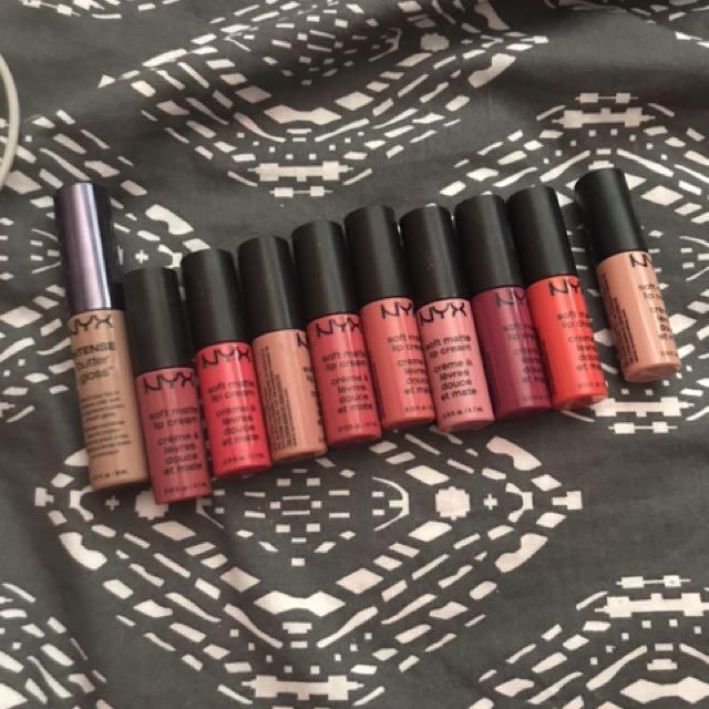 Lipsticks nyx