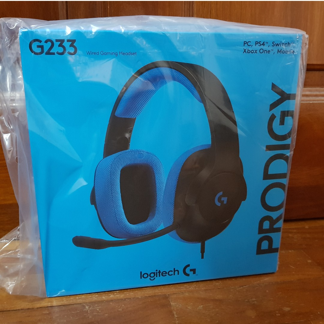 ecd724bc9eb Logitech G233 Prodigy Wired Gaming Headset [BRAND NEW & SEALED ...
