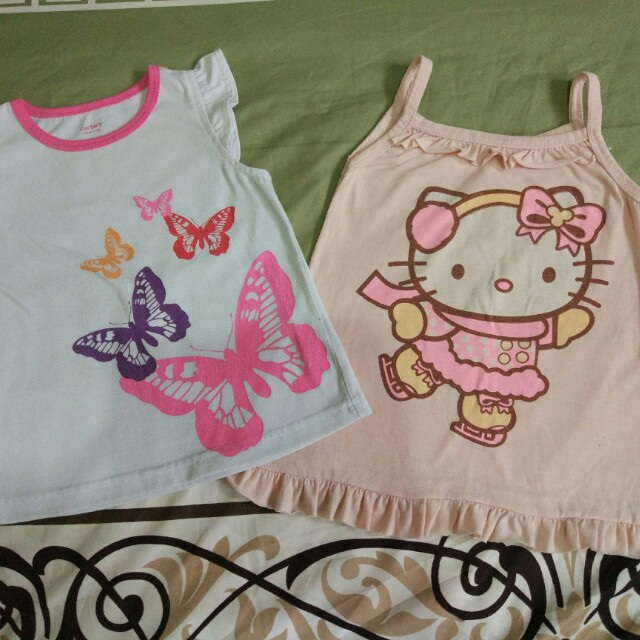 Lot of 2 House Tops 2-3T