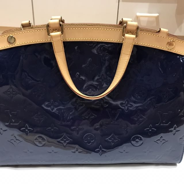 Louis Vuitton Brea MM Dark Blue