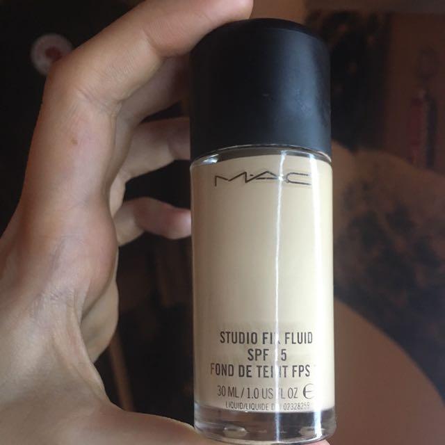 MAC studio fix fluid foundation spf 15