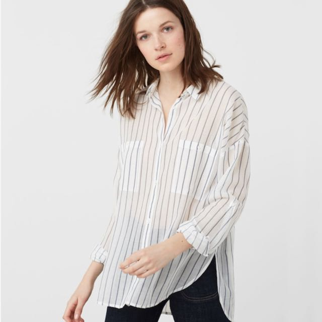 Mango Stripe Shirt