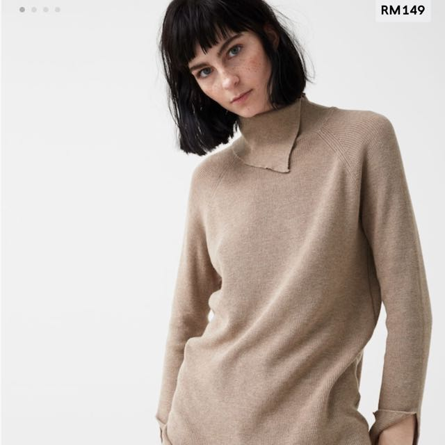 Mango Turtle Neck Knitted  Sweater