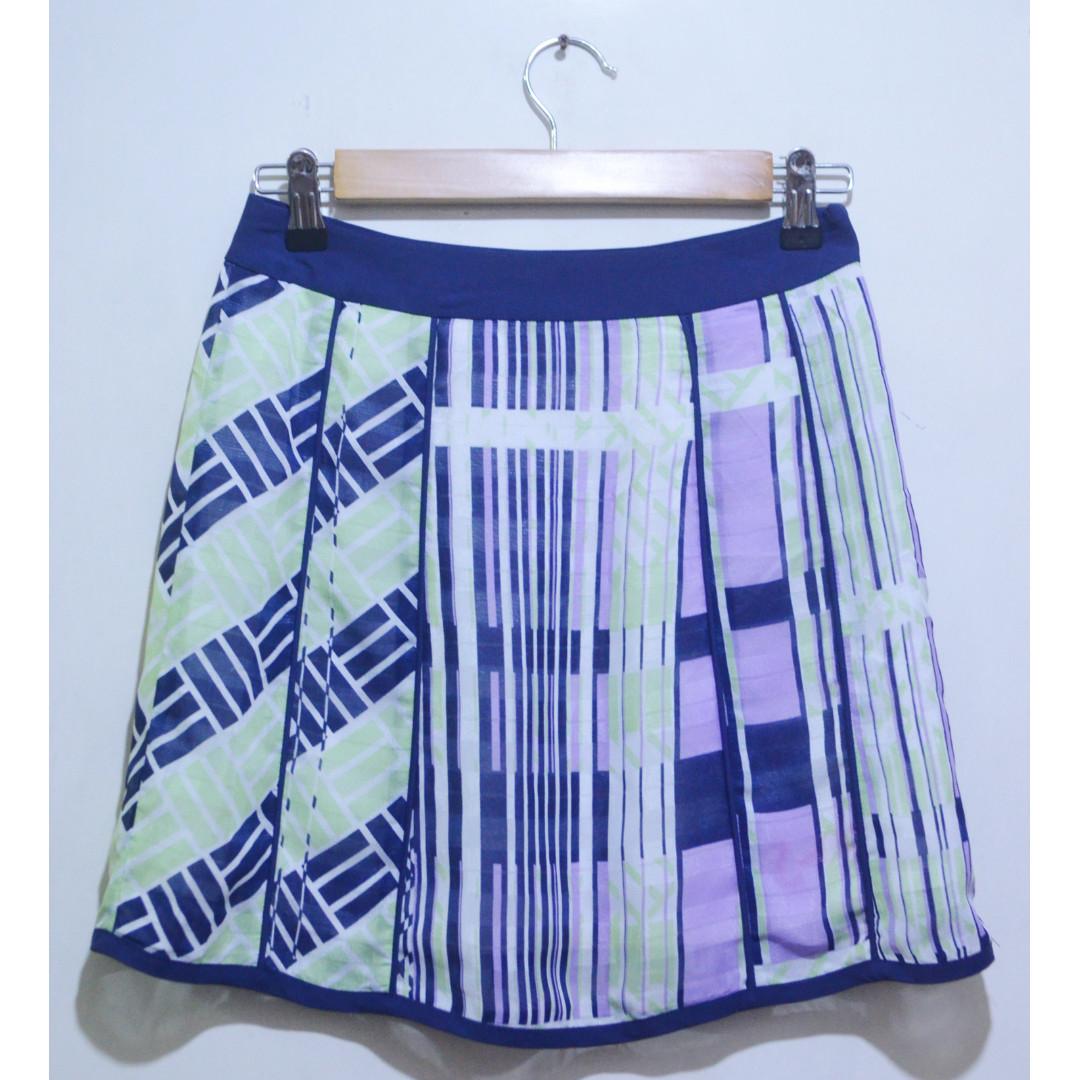 MASTINA Chiffon A-line Skirt