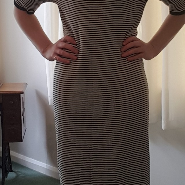 Maxi autumn dress