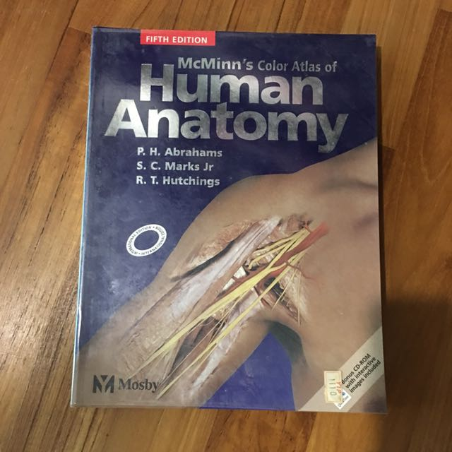 Mcminns Color Atlas Of Human Anatomy Books Stationery Textbooks