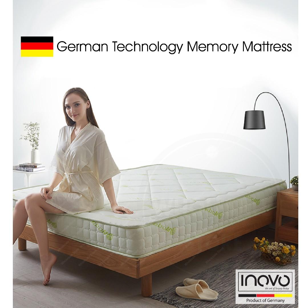 Memory Foam Mattress Mattress Bed Frame Single Size Mattress Queen Size Mattress Super Single Size Mattress