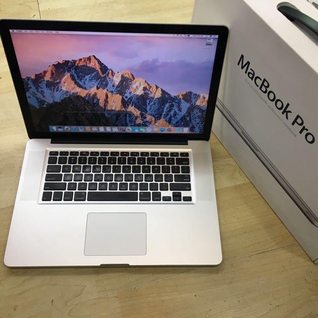 """Mid 2010 15"""" MacBook Pro Core i7  Nvidia"""