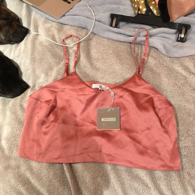 Misguided cropped cami