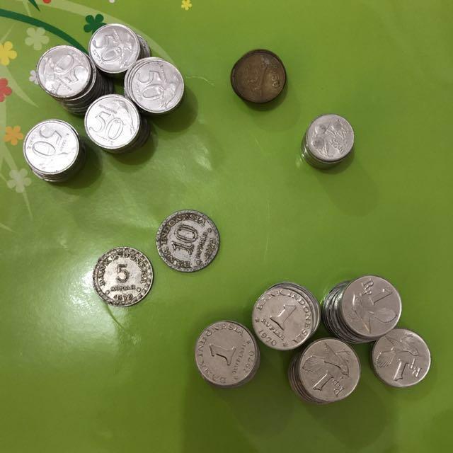 Mix uang logam lama