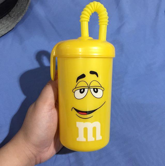M&m bottle straw