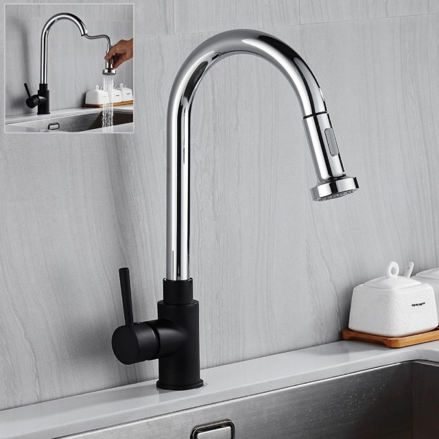 Modern Kitchen Sink Tap Pull Out Type Kitchen Appliances On