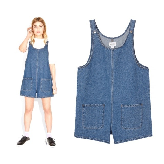 Monki Denim Romper