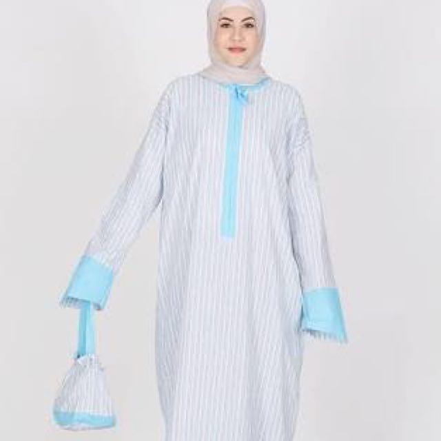 mukena abaya nania (ori @ hijabenka)