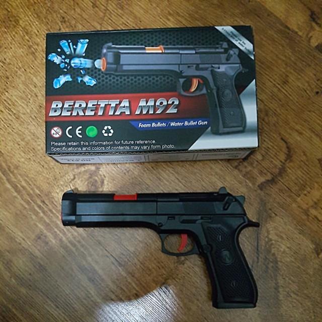 Sale Pop Shot Ball Shooter Blue Red Gun | Pop Guns & Poppers | TinToyArcade  | 075656006515