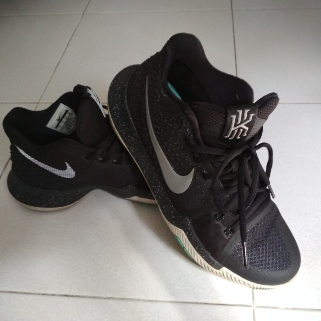 huge selection of e8a7e d8437 Nike Kyrie 3 Black & Ice, Men's Fashion, Footwear on Carousell