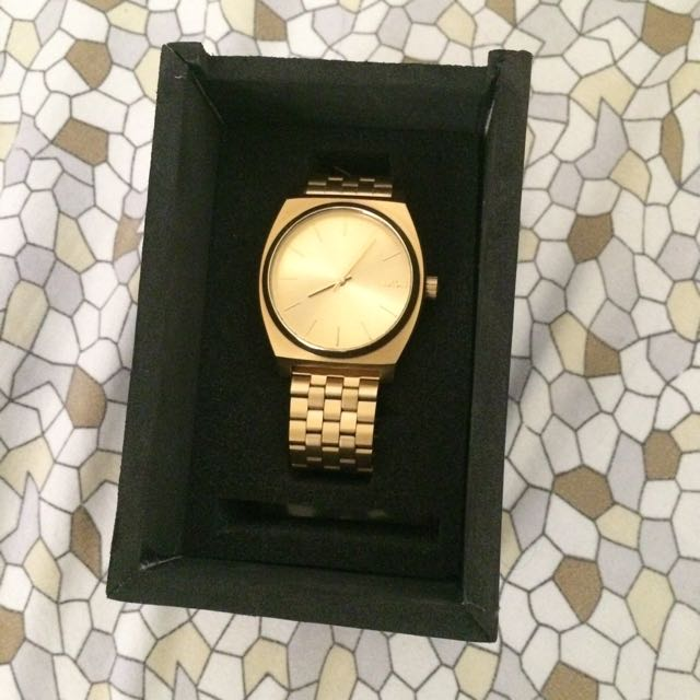 Nixon Time Teller All Gold watch brand new
