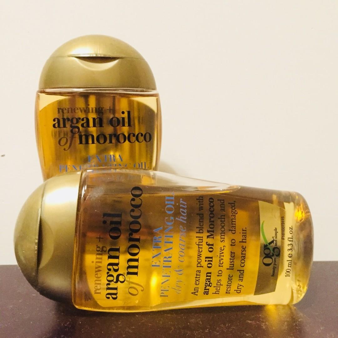 (全新含運)OGX摩洛哥堅果油新生修護護髮精油100ml