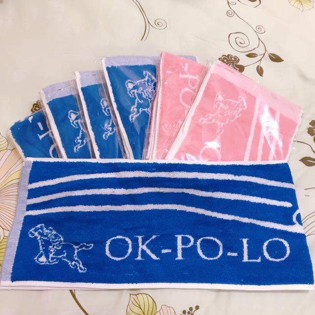 好馬牌OK-PO-LO運動毛巾