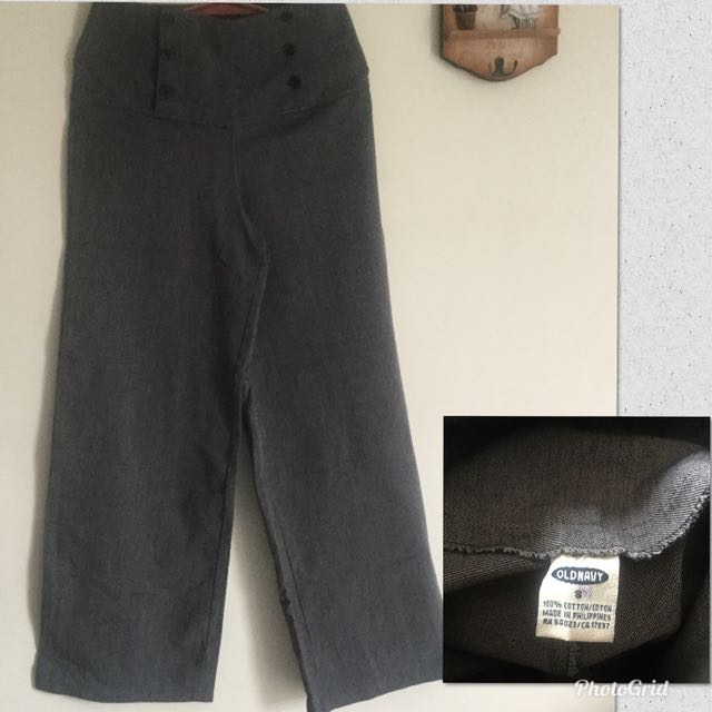 Old navy HW square pants