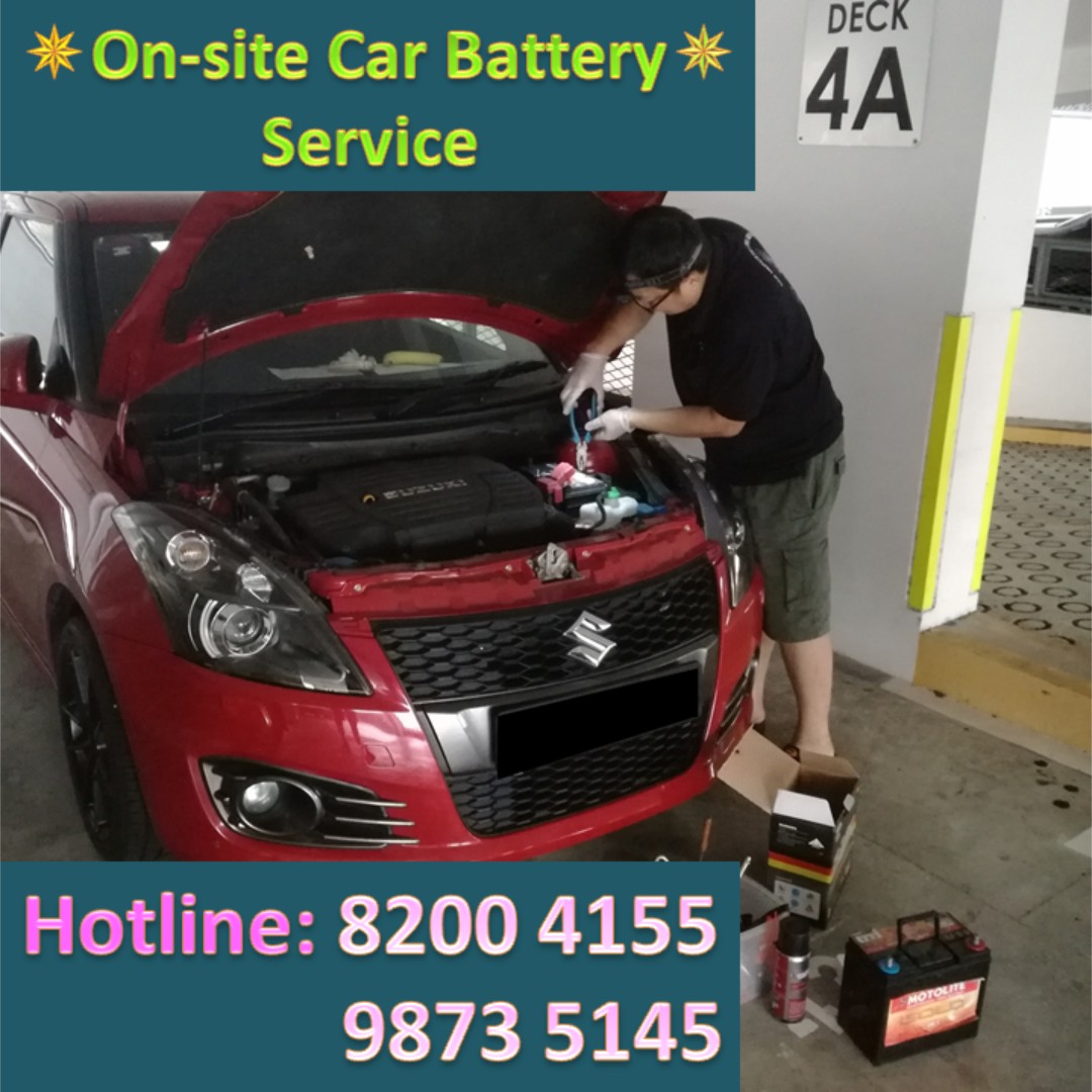 Onsite Car Battery Change