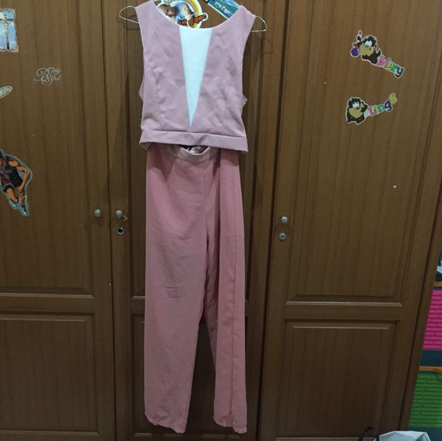 Pastel Set ( TOP+PANTS)