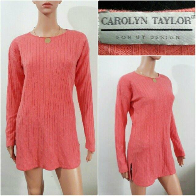 Peach Knitted Dress