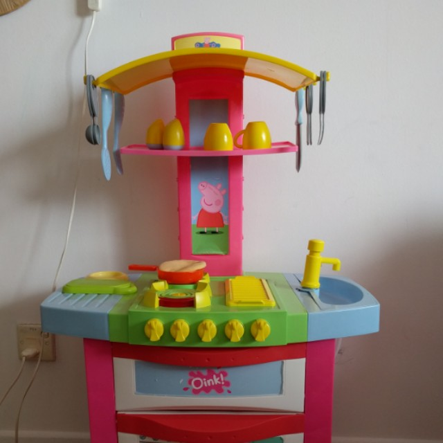 Peppa Pig Kitchen Plastic Set