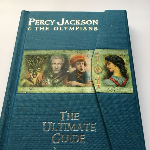percy jackson the olympians the ultimate guide books books on rh ph carousell com percy jackson ultimate guide epub percy jackson & the olympians the ultimate guide