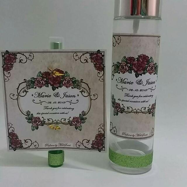 Perfumes or Linen Spray