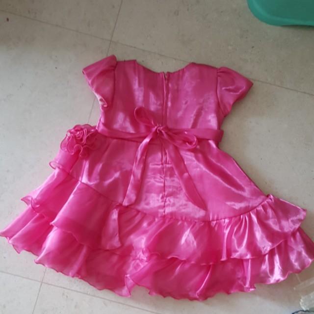 Pink Dress Age 4