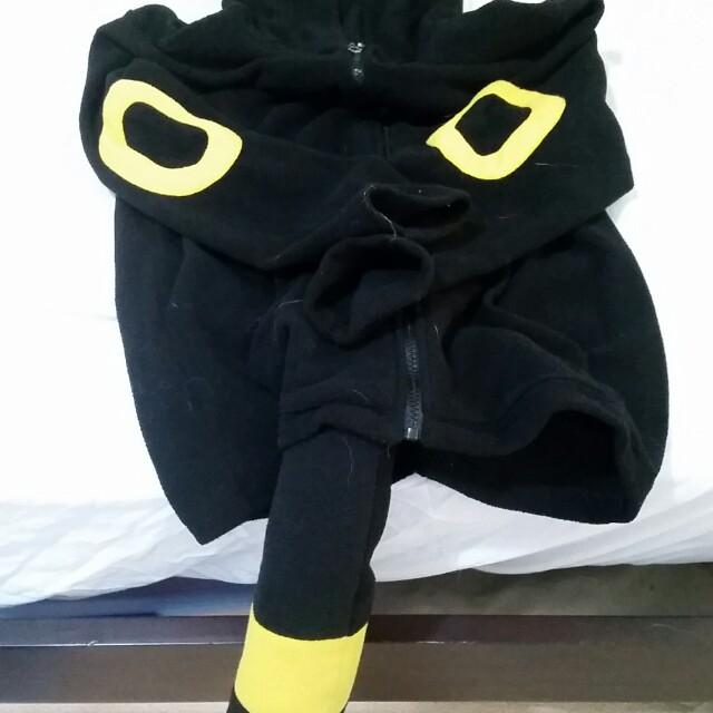 Pokemon fleece jacket