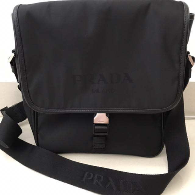 8772182eee57a5 ... germany prada nylon men sling bag mens fashion bags wallets on  carousell 36951 c985a