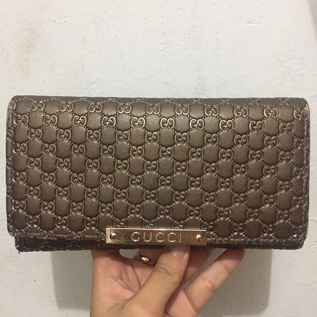 Preloved like new guess premium dompet lipat