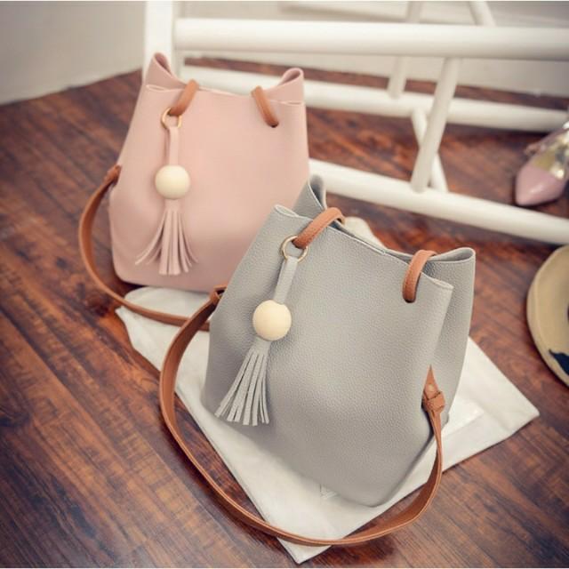 pre-order korean bucket shoulder bag