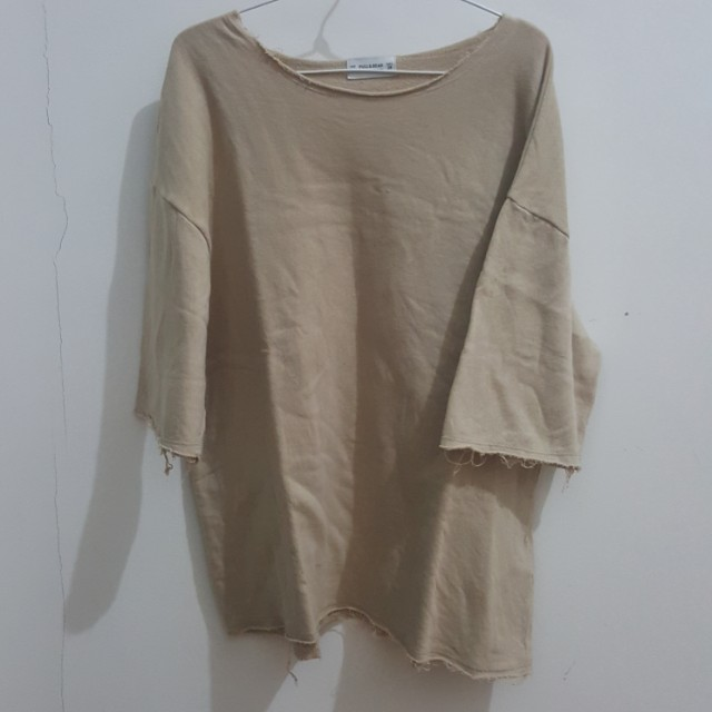 Pull and bear oversized top