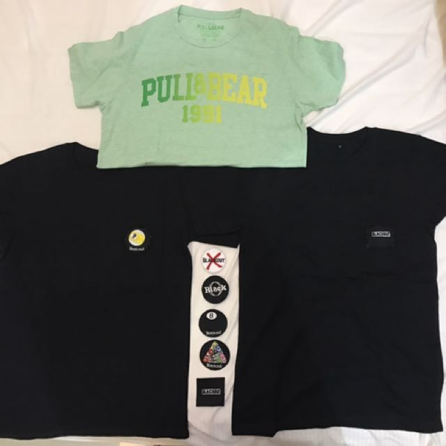 PULL N BEAR , BLACKOUT ORIGINAL (50.000 FOR 3)
