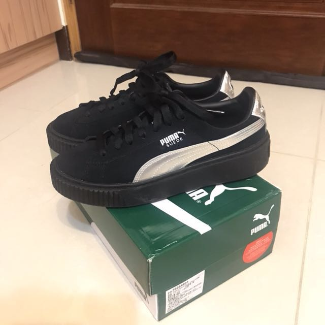 Puma Platform 黑色(可議)