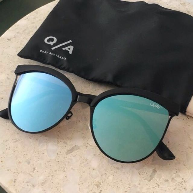 Quay Australia Stardust Cat Eye Sunglasses