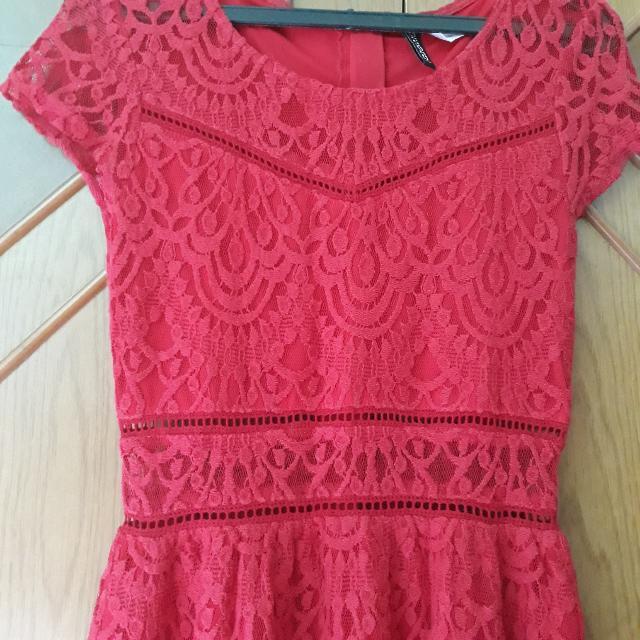 SALE Red Dress H&M