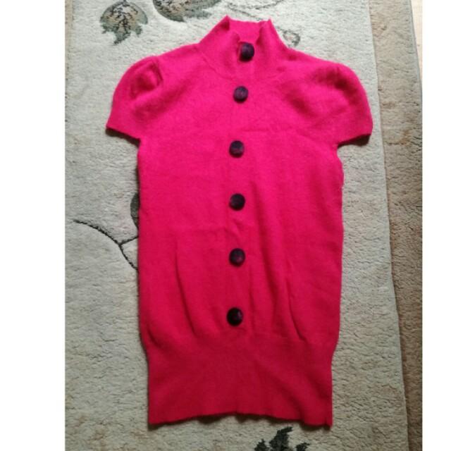 Red neck shirt