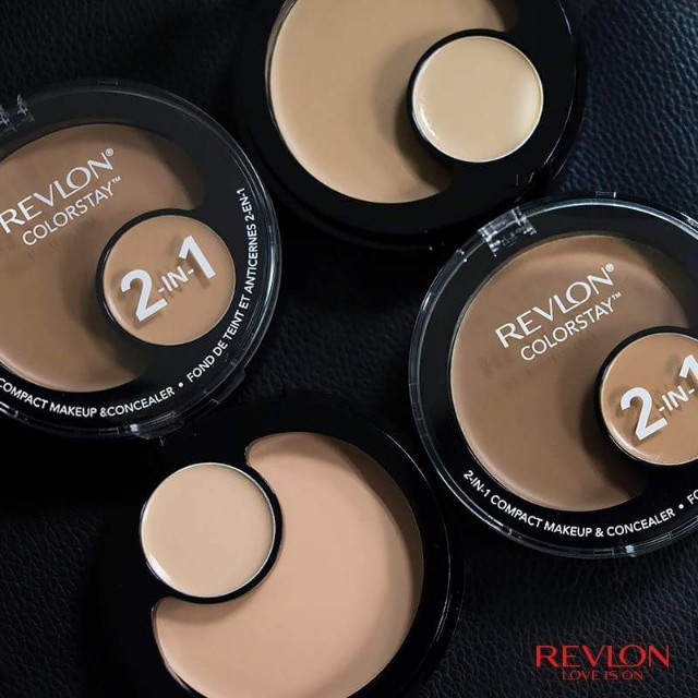 RM55 Promo. Revlon Colorstay 2-IN-1 Compact makeup and concealer