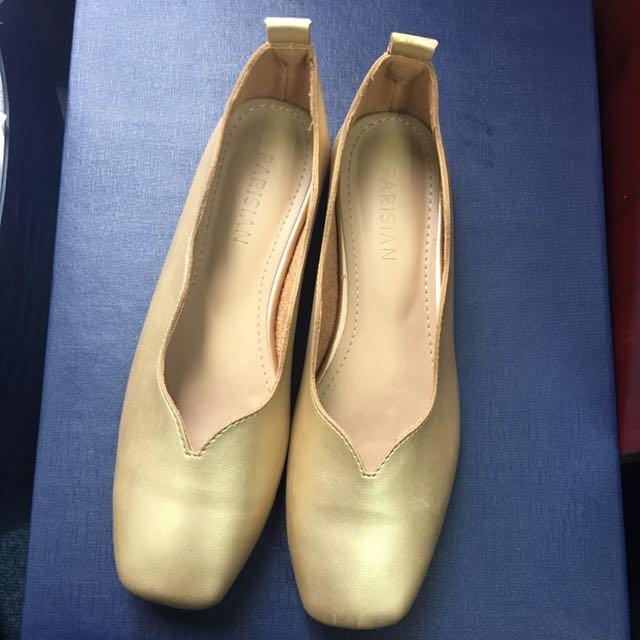 ❌SALE❌Parisian Leather Flat Shoes