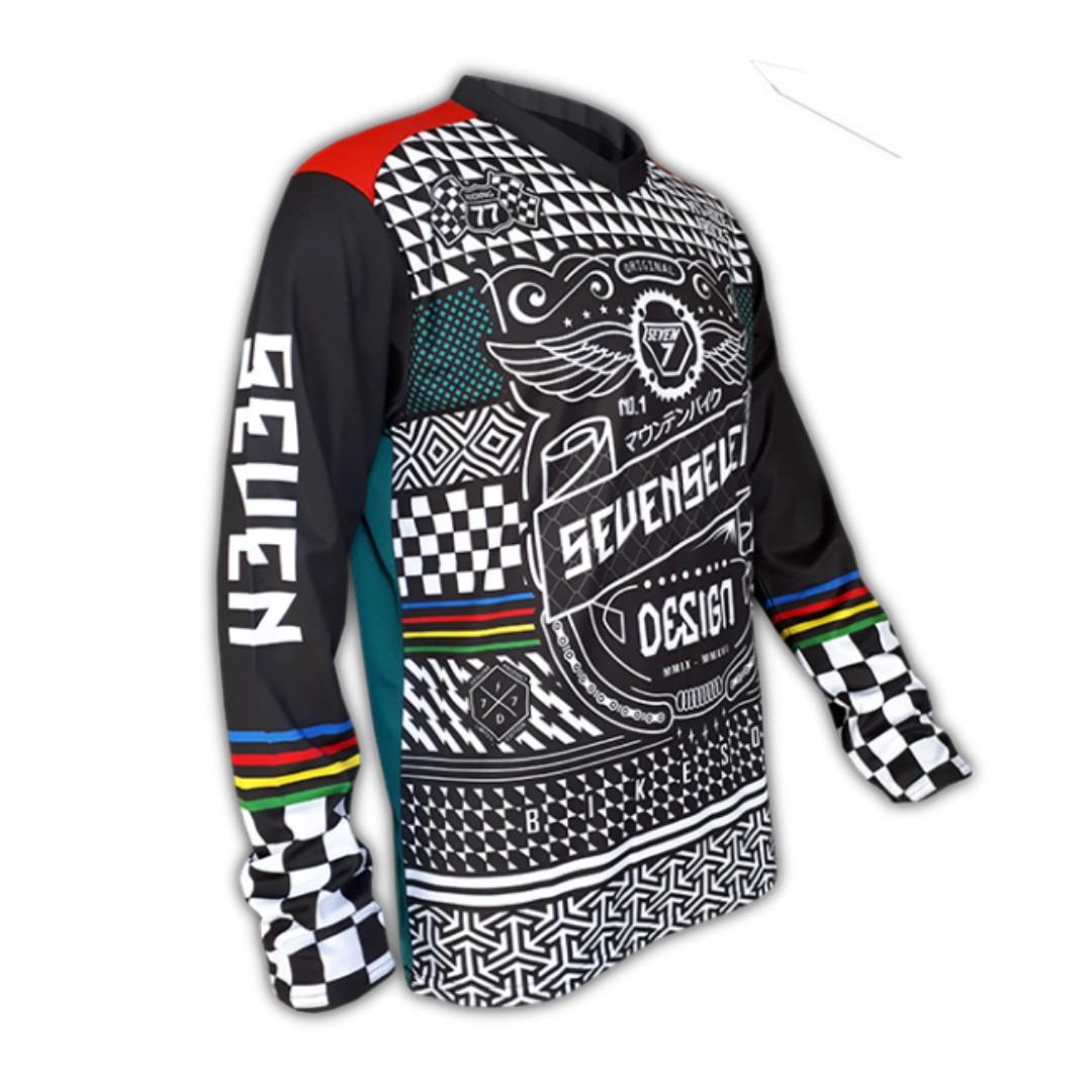 Seven7 Design Batik Race 77 MTB Jersey bcd4f0be5