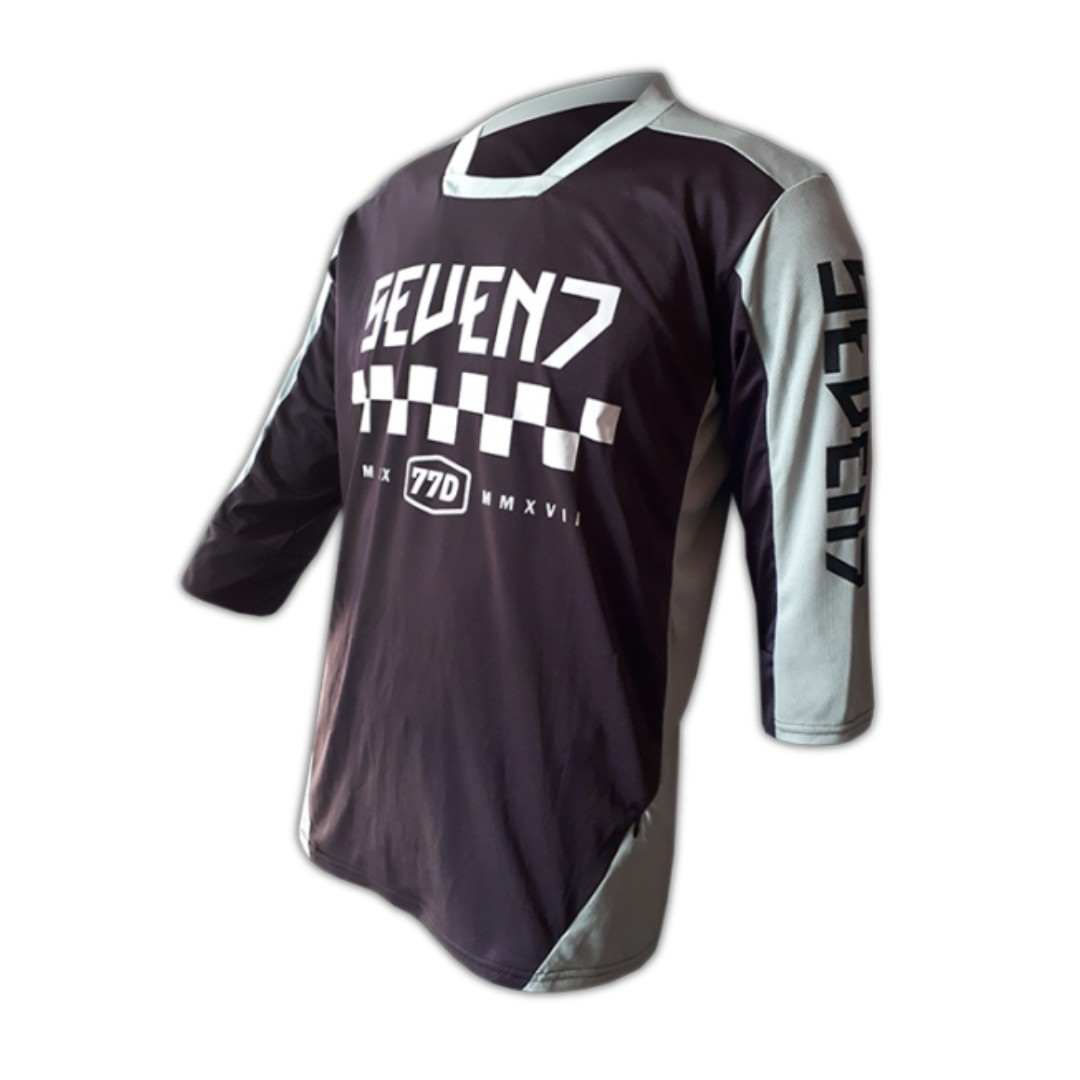 5fb0cb21a Seven7 Design Celtic Dark Purple Grey MTB Jersey