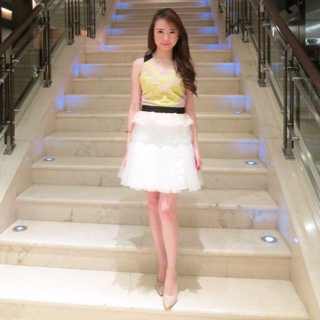 SF Yellow Dress