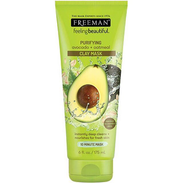 (SHARE IN JAR) 10gr freeman oatmeal & avocado clay mask