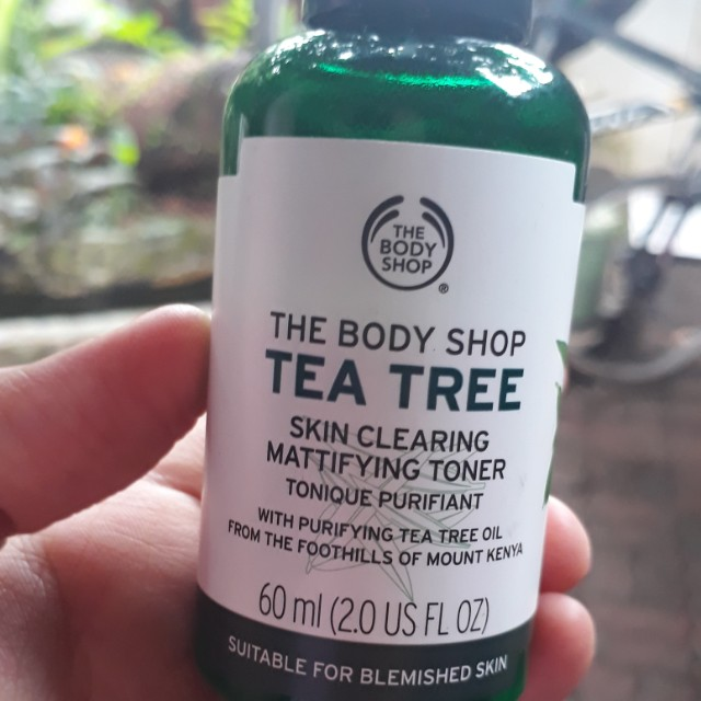 The body shop tea tree 60ml